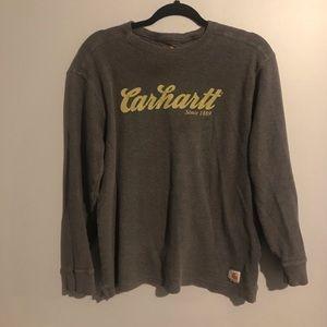 Men's Carhartt long sleeve waffle knit top